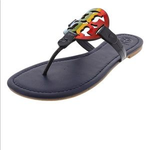 Tory Burch Rainbow Miller Sandals